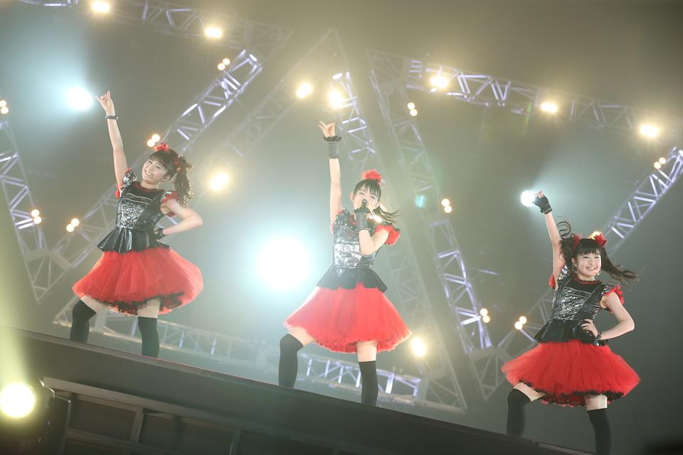 6月21日@幕張メッセ公演「BABYMETAL WORLD TOUR 2015 〜巨大天下一メタル武道会〜」 Amuse inc.
