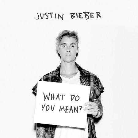 ジャスティン・ビーバー「What Do You Mean?」ジャケット画像