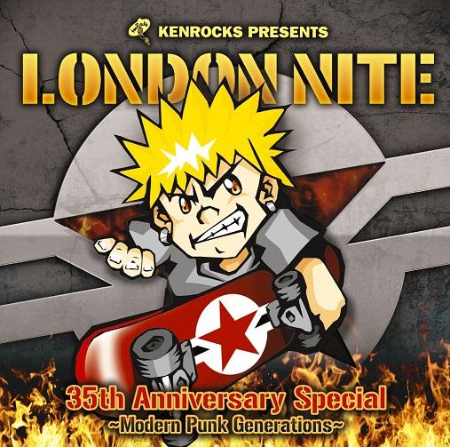 アルバム『LONDON NITE 04 35th Anniversary Special ~Modern Punk Generations~』