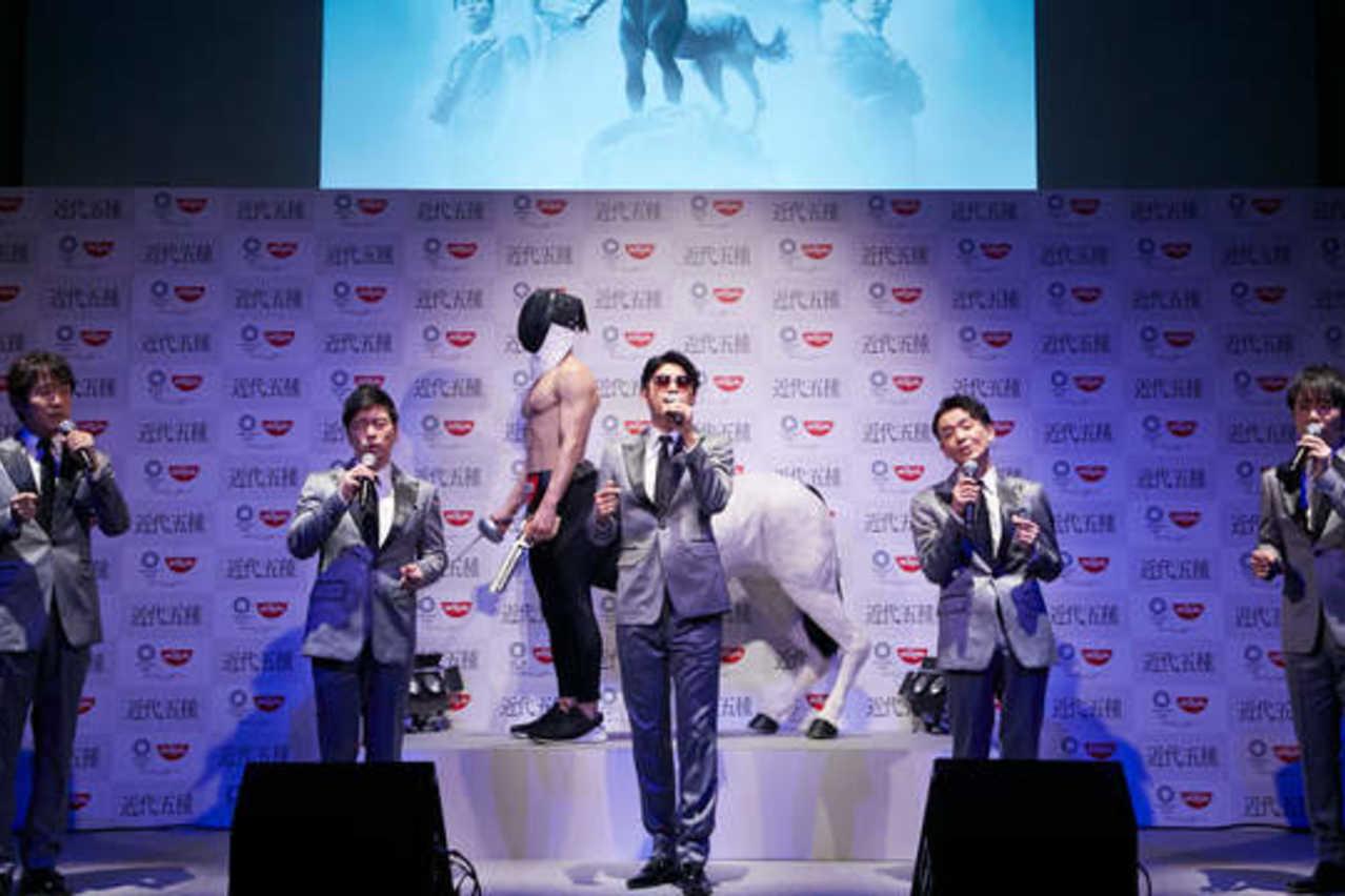 ゴスペラーズ扮する「近代五種ペラーズ」生替え歌でオリンピック応援